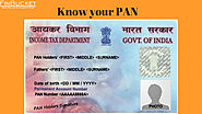 Know your PAN status of PAN components of PAN | Finbucket |
