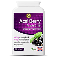 Acai Berry Supreme | Weight Loss Supplements Capsules | Slay Fitness Store