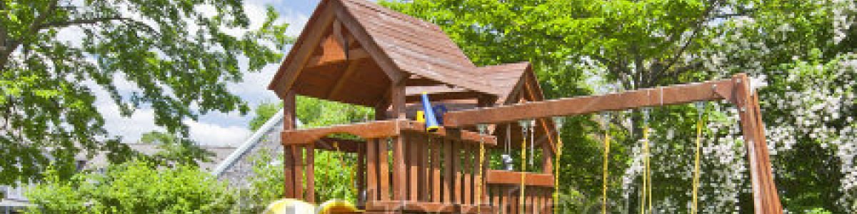 Headline for TOP 10 BEST CHILDREN'S BACKYARD PLAY SETS REVIEWS 2018-2019