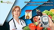 Natural Supplements for Diabetes to Lower Blood Sugar Levels Naturally