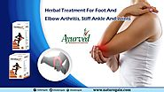 Herbal Treatment for Foot and Elbow Arthritis, Stiff Ankle and Joints