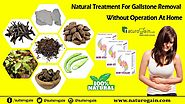 Natural Treatment for Gallstone Removal without Operation at Home