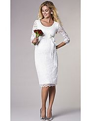 Shop Online from Seven Women Collection of Maternity Bridal Wedding Dresses