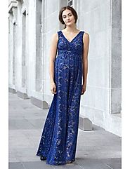 Seven Women Offers Stylish Maternity Evening Gowns