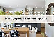 Most popular kitchen layouts - Urban Living Designs