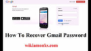 How do you recover your email password