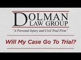 Clearwater Personal Injury Attorney | Will My Case Go To Trial?