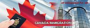 Online visa assessment for Canada Immigration by the AP Immigration. Move to Australia and Canada in with more than 6...