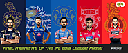 Final Moments of the IPL 2018 League Phase
