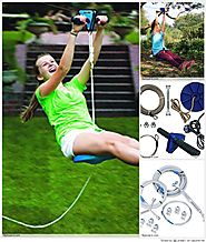 Top 10 Best Backyard  Zipline Kits with Break and Seat Reviews 2018-2019 on Flipboard