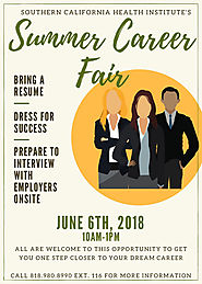 Southern California Health Institute Summer Career Fair