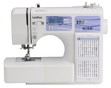 Brother HC1850 Computerized Sewing and Quilting Machine with 130 Built-in Stitches, 9 Presser Feet and more