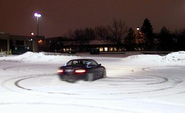 2. Practice driving in the snow