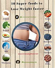 Superfoods to Lose weight Faster