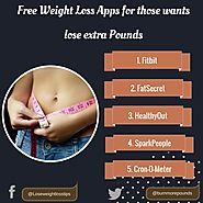 Lose more pounds with these free weight loss apps in 2018