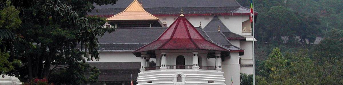 Headline for Famous Buddhist temples in Sri Lanka - Five Well Known Theravada Buddhist Temples