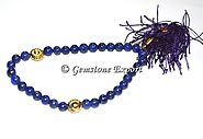 Buy LAPIS LAZULI 33 BEADS TASBIH at Gemstone Export
