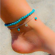 The Summer Nights Anklet – copperlily
