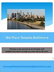 We place tenants baltimore