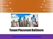 Tenant placement baltimore