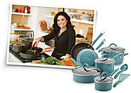 Rachael Ray Hard Enamel Nonstick 3-Quart Covered Steamer Set, Orange Gradient - Kitchen Things