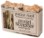 A Wild Soap Bar Organic Shampoo and Body Bar, Yucca Root, 3.5 Ounce