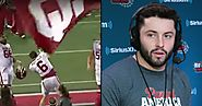Baker Mayfield, now a Cleveland Brown, had to answer for planting Oklahoma flag at Ohio Stadium