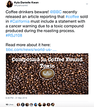 Toxic Compound in California Coffee