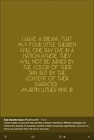 Inspiration from Dr. Martin Luther King Jr.