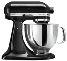 KitchenAid KSM150PSOB Artisan Series 5-Quart Mixer, Onyx Black