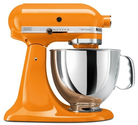 KitchenAid KSM150PSTG Artisan Series 5-Quart Mixer, Tangerine