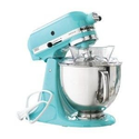 KitchenAid Martha Stewart Blue Collection KSM150PSAQ Stand Mixer, Artisan 5 Quart. Tiffany Blue Aqua Sky Color
