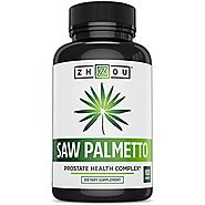 Saw Palmetto Supplement For Prostate Health - Extract & Berry Powder Complex - Healthy Urination Frequency & Flow For...