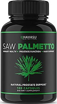 Extra Strength Saw Palmetto Supplement & Prostate Health - Prostate Support Formula to Reduce Frequent Urination and ...