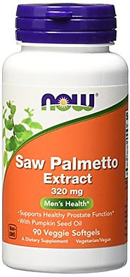 NOW Saw Palmetto 320mg, 90 Veg Softgels