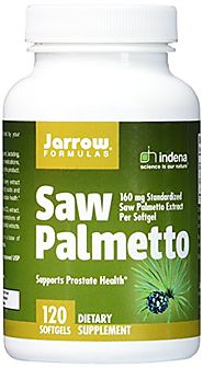 Jarrow Formulas Saw Palmetto, Supports Prostate Health, 120 Softgels