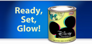 Disney Specialty Finishes | Ready, Set, Glow! - A Glow in the Dark Paint!