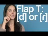 Flap T: Really a D Sound? American English Pronunciation
