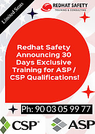 Fire and Safety Courses in Chennai (Govt) - NEBOSH Course in Chennai