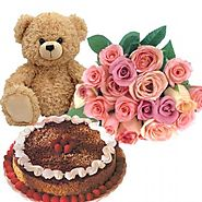 Mothers Day Flowers and Cake, Send Mother's Day Flowers and Cake Delivery Online, Order Online