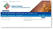 Official Website of 2018 EU Council Presidency Integrates CEF eTranslation