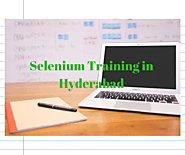 Selenium Training in Hyderabad