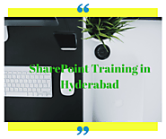 SharePoint Training in Hyderabad