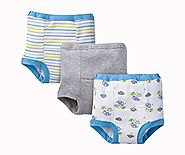 Gerber Baby Toddler Boy Training Pants, Dino, 3-Pack, 2T