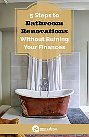 5 Steps to Bathroom Renovations Without Ruining Your Finances