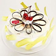 Buy / Order Exotic Pineapple Cake Online at Best Price Same Day- OyeGifts.com