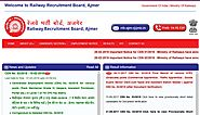 www.rrbajmer.gov.in RRB Ajmer Official Site - Recruitment Notification Cut off Results - RRB Result