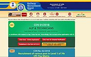 www.rrbbnc.gov.in RRB Bangalore Official Site - Recruitment Notification Cut off Results - RRB Result