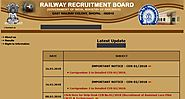www.rrbbhopal.gov.in RRB Bhopal Official Site - Recruitment Notification Cut off Results - RRB Result