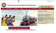 www.rrbbbs.gov.in RRB Bhubhaneshwar Official Site - Recruitment Notification Cut off Results - RRB Result